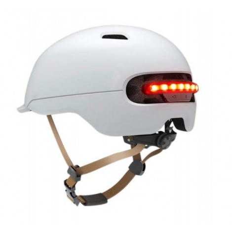 Casco Urbano con LED Smart4U - SH50 Blanco