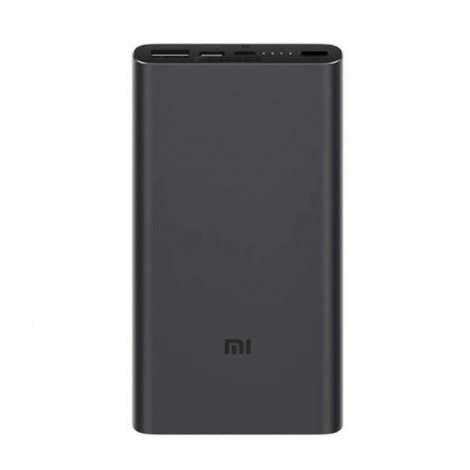 Xiaomi Mi Power Bank 3 10000mAh 18W Fast Charge Black