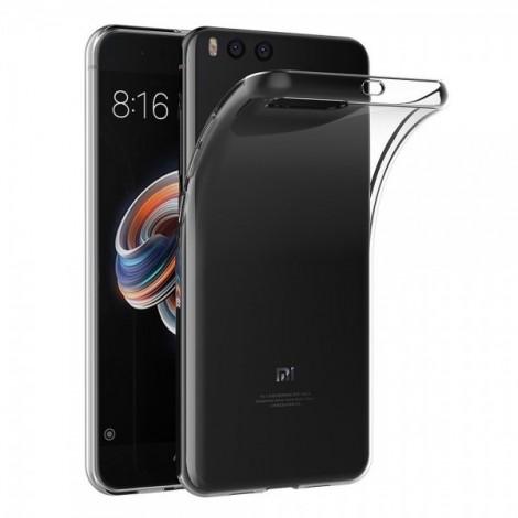 Funda para Xiaomi Mi Note 3 Transparente Silicona - MiCanarias