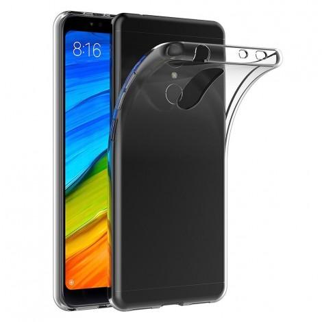 Funda para Xiaomi Redmi 5 Transparente Silicona